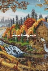 Water Mill by Ksenia Voznesenskaya
