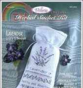 The Victoria Sampler Herbal Sachet  Lavender