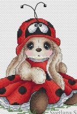 Bunny Ladybug by Svetlana Sichkar