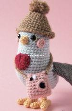 Lemon yarn creations - Andreia Ferreira- Laura the Pigeon