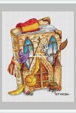 Green Terrace - Harry Potter Book by Anna Petunova