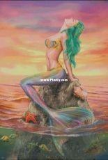 HAED HAEAAL 20180012 Mermaid at Sunset by Alena Lazareva
