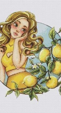 Magic Stitch - Lemony (Limonnaya) by Nadezhda Nagornaya / nezhenka.nadin