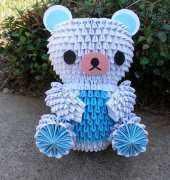 3D- Blue bear