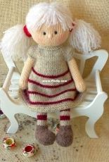 Knit a Miracle by Nelly - Nelly Shkuro - Maggie, the Magic Doll -Russian