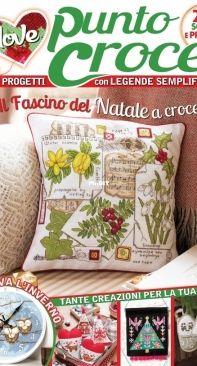 I love Punto Croce 15 2021 nov-dec