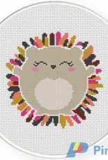 Daily Cross Stitch - Porcupine