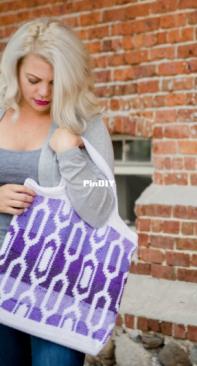 Furls Crochet - Amber Millard - Cecelia Tapestry Bag - Free