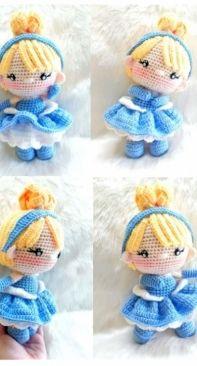 Crochet Garage - Mini Cinderella - Spanish
