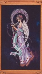 Filipina Cross Stitch Designs - Mayari, Deity of the Moon Bella