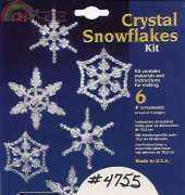 The Beadery- Crystal Snowflakes