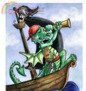 HAE Pirate Dragon - Lisa Victoria