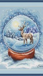 Snow Globe by Savera / Victoria Kuznetsova