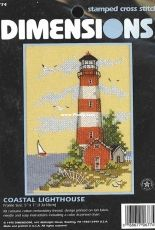 Dimensions 6774 - Coastal Lighthouse / Stamped