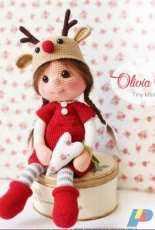 Tiny Mini Design - Mary Soskov - Amigurumi Doll Olivia - Spanish - Translated