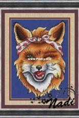 Fox Alice by Nadezhda Kazarina /Nadi