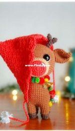 Mi mundo unicornio amigurumi - Roxana Spaciuk - Rumi The Christmas Reindeer - Rumi El Reno Navideño - Spanish