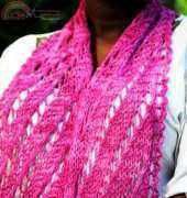 Colliding Stars Scarf by Denise Twum /NiseyKnits-Free