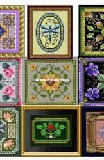 Chatelaine Designs - A Tiny Rose Mandala Garden - Caron Waterlilies - Debi's Rose - Test of Acrobat Reader - Manuela's Sunflowers - Rathy's Violets - Springtime Roses - Strawberry Summer - Tree Ornament 001 - Consolation Prize Raffle - 2010-2011-2012