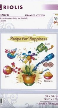 Riolis 1920 Recipe for Happiness XSD