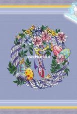 Easter Wreath by Anastasia Eremeeva