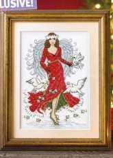 Christmas Angel by Lesley Teare from Cross Stitch Crazy 209