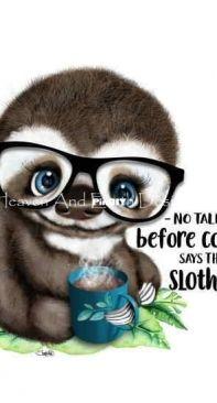 HAED Mini Coffee Sloth - Sheena Pike