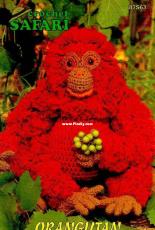 Annie's Attic - Barbara Anderson - 87S63 Crochet Safari - Orangutan