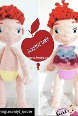 Amigurumiyi Sever - Sevimli Doll - Turkish - Free