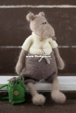 Nelly Shkuro - Knit A Miracle - Boris the mouse - Russian