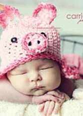 RAKJpatterns - Kristi Simpson - Pig Hat - English