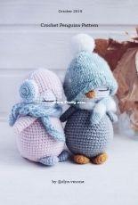 Toys Crochet Studio - Olya Vessna - Olya Dziashkouskaya - Penguins