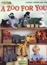 Leisure Arts -  Cindy Harris - 2622  A Zoo For You - English