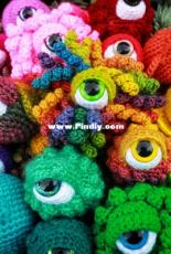Crafty Intentions - Megan Lapp - Eyeball Monsters - Spanish