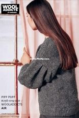 Piff Puff Pullover by WOOLADDICTS Design Team -English-Dutch-French-German