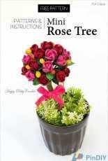 Happy Patty Crochet - Mini Stem Rose - Free