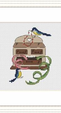 Mr.Stitch & Mrs.Needle - Birds - Needleworkers September