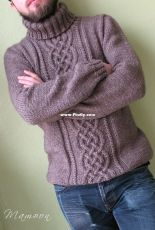 Precel Pullover by Agata Smektala-English-Polish-Free