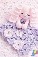 Ira Rott Designs - Ira Rott - Sunny the Sleepy Bunny Security Blanket