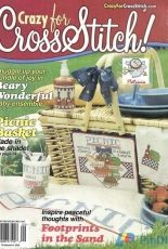 Crazy for Cross Stitch Issue 66 September 2001