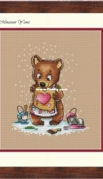 MiAxStitch - With Love - Bear by Minasyan Yana