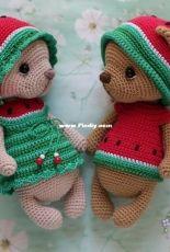Fairy Toys - Alexandra Konkina  - Watermelon Bears