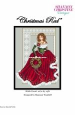 Shannon Christine Designs by Shannon Wasilieff - Christmas Red