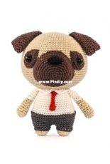 DIY Fluffies - Mariska Vos-Bolman - Mr Pug - English and Dutch