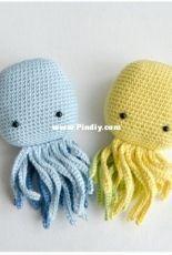 Rnata -  Natalia Ruzanova - Crochet Octopus - Amigurumi Octopus