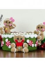 One and Two Company - Carolina Guzman - Gingerbread Christmas Basket