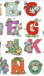 Animal ABC by Margaret Sherry From Cross Stitcher Magazine 182 - Website - Free