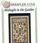 Sampler Cove SC1030 - Midnight in the Garden