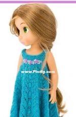 Lelle Moda - Disney Animator Doll dress collection - Lise