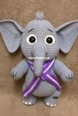 Elephant Monya by Elena Akkoca (Ecem Design)